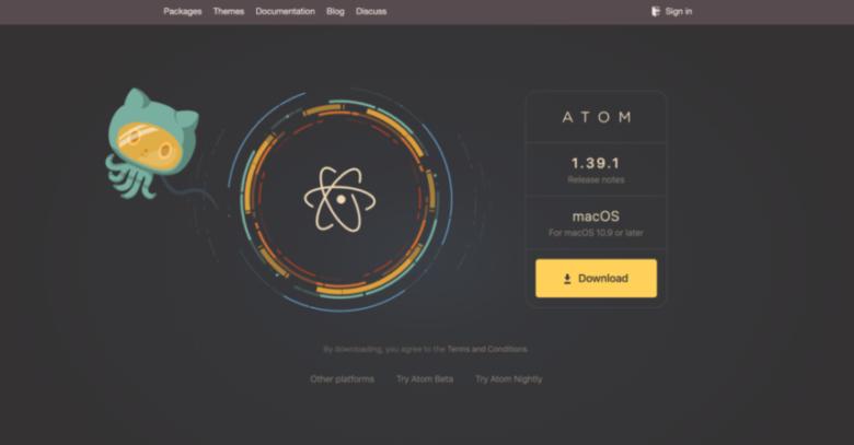 プログラミング初心者ならまずはこのエディタ!「atom」
