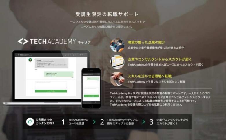 テックアカデミー(TechAcademy)の評判・口コミ!最悪じゃない