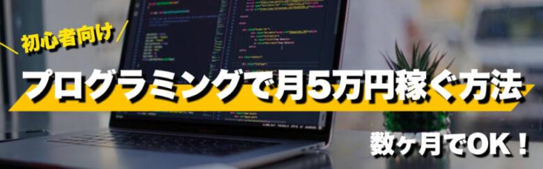 【副業】プログラミングで月5万円稼ぐおすすめの学習手順!数ヶ月でOK